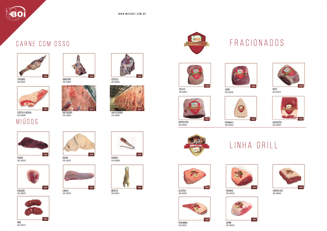 Carne com Osso e Fracionados